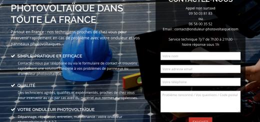 Assistance et dépannage photovoltaique