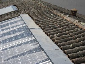 Fuite panneaux solaires