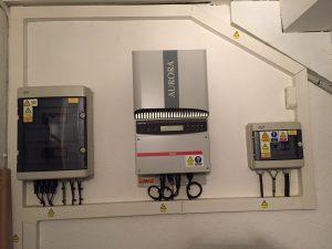 Onduleur aurora power one erreur E031