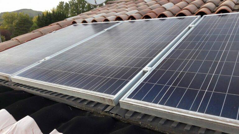 Panne des panneaux solaires
