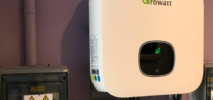 Onduleur photovoltaique de la marque Growatt