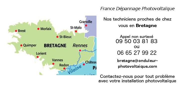 Dépannage onduleurs réseau Bretagne