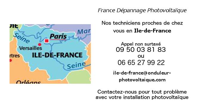 Dépannage onduleurs réseau Ile-de-France