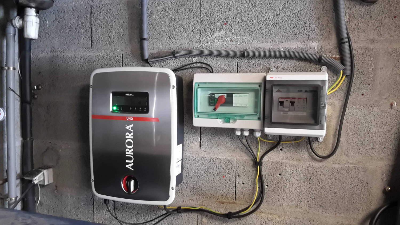 Dépannage onduleur photovoltaique en région Auvergne