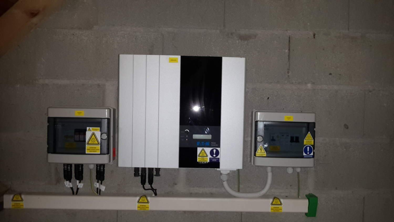 Dépannage onduleur photovoltaique en région Franche-Comté