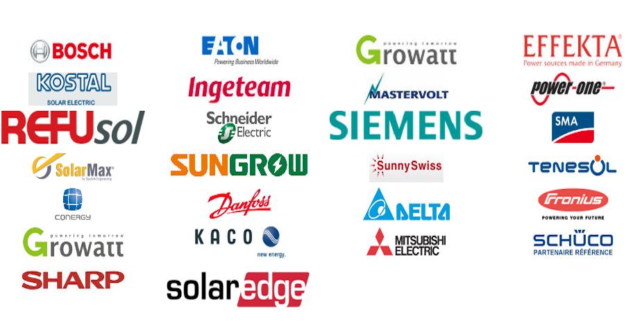 France Dépannage Photovoltaïque marques prises en charge