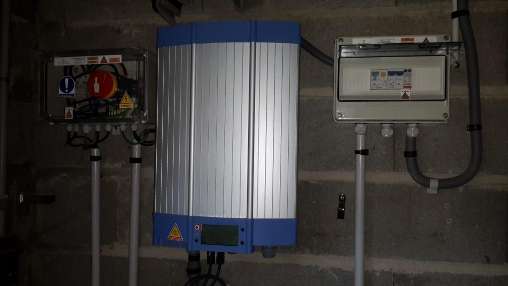 Depannage onduleur photovoltaique mastervolt