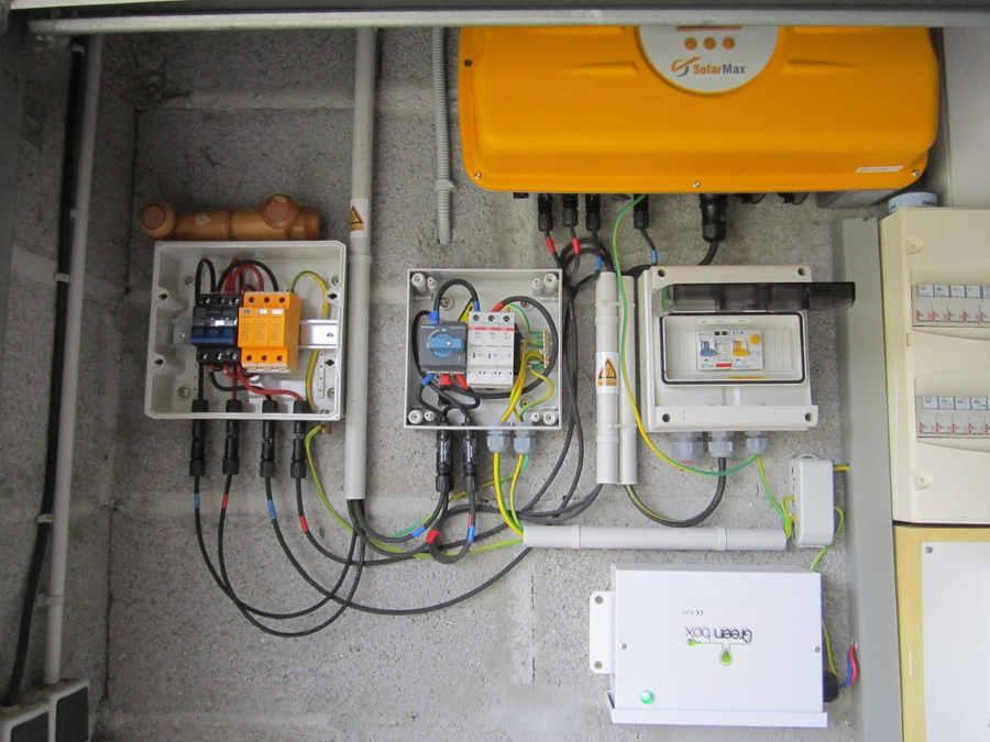 Depannage onduleur photovoltaique Solarmax
