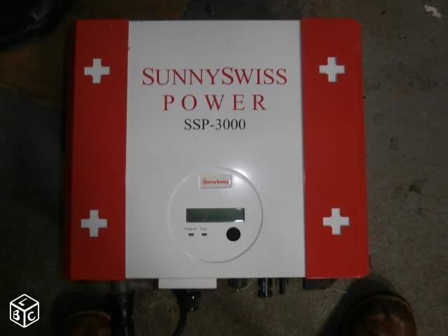 Depannage onduleur photovoltaique Sunnys Swiss