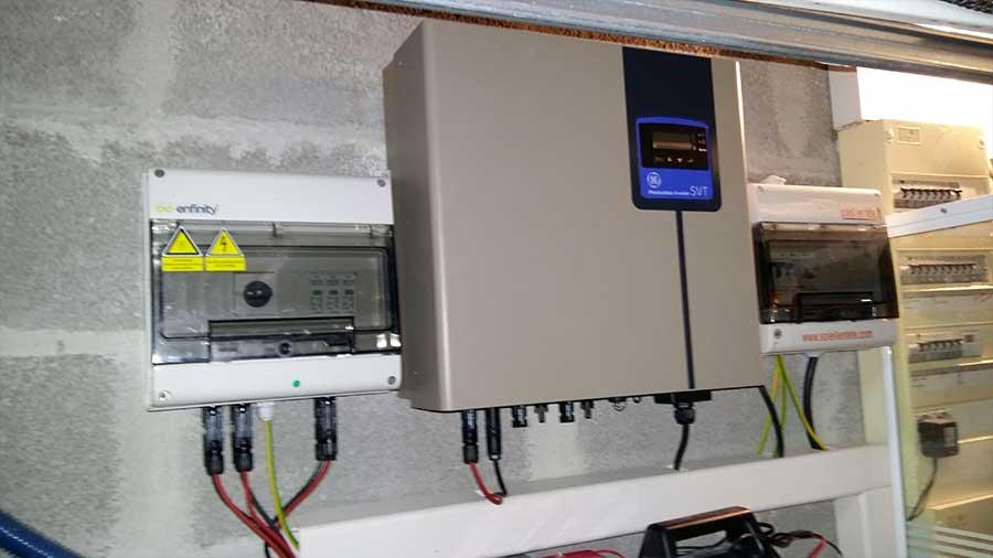 Depannage onduleur photovoltaique Conergy