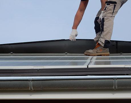 dépannage panneaux photovoltaïque