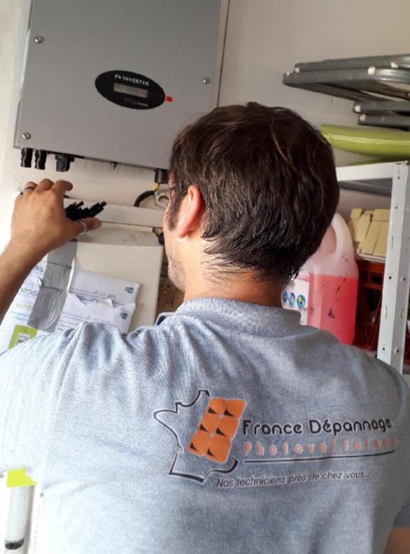 Technicien France Dépannage Photovoltaique
