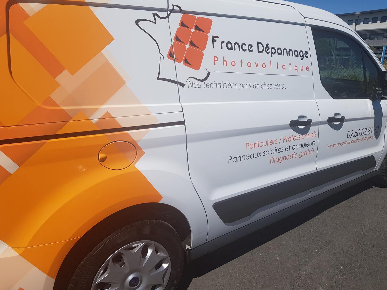 Véhicule France Dépannage Photovoltaïque